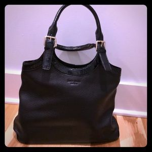 Black Kate spade leather shoulder bag